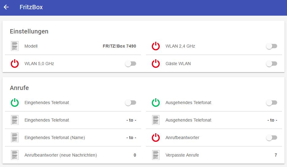 Integration FritzBox In Das OpenHAB-System