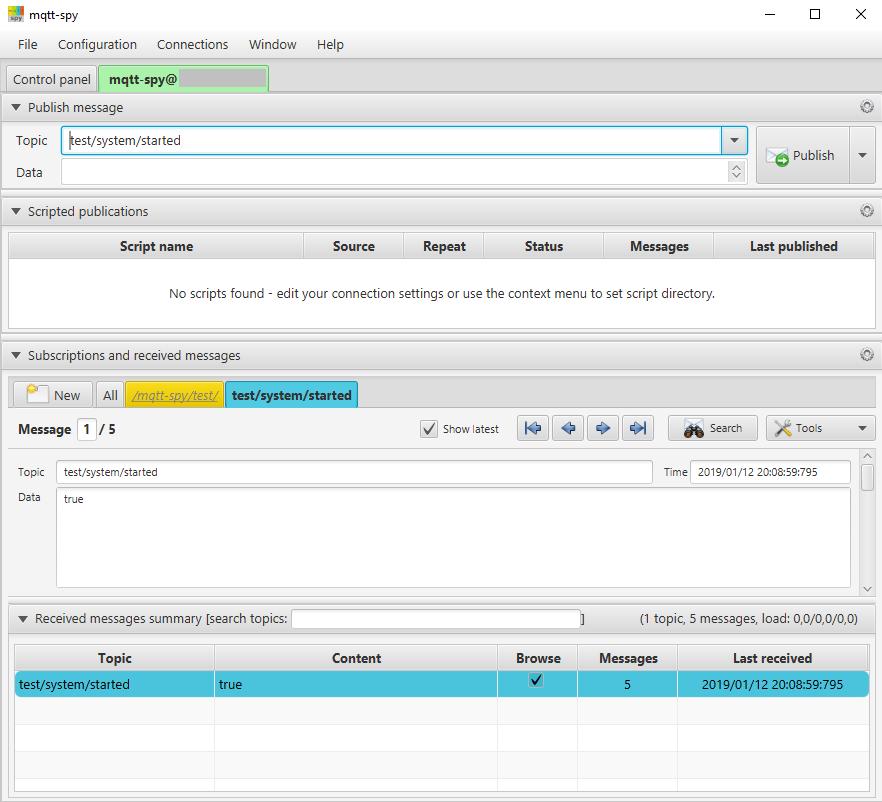 Installation und erste Tests mit MQTT und openHAB 2 4
